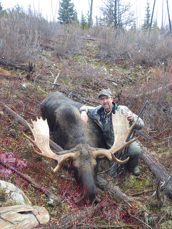 Moose Hunts in BC Canada