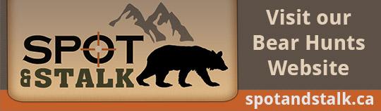 Visit our bear hunting website